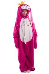 Зайчики и Кролики - Детская пижама Розовый заяц