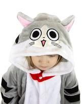 Кигуруми - Детская пижама Серый Кот