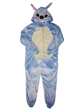 Кигуруми - Детская пижама синий Стич
