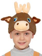 Детская плюшевая маска Олененка