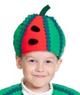 Фрукты и ягоды - Детская шапка Арбуз