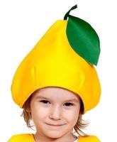 Фрукты и ягоды - Детская шапка Груша