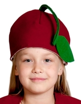 Фрукты и ягоды - Детская шапка Вишня