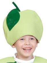 Фрукты и ягоды - Детская Шапка Яблоко