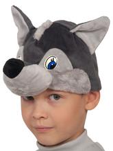 Волки - Детская шапочка-маска Волчонок