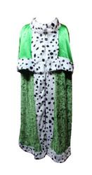 Цари - Детская зеленая мантия короля