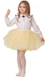 Мультфильмы и сказки - Детская желтая юбка со звездочками