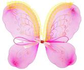 Пчелки и бабочки - Детские розовые с узорами