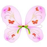 Пчелки и бабочки - Детские с желто-зеленой лентой