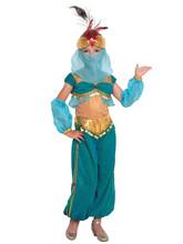 Жасмин - Детский бирюзовый костюм Шахерезады