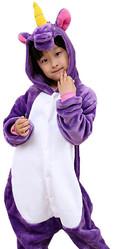 Кигуруми - Детский Фиолетовый Единорог