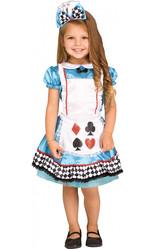 Белоснежки и Алисы - Детский костюм Алисы с бантиком