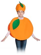 Фрукты и ягоды - Детский костюм Апельсина