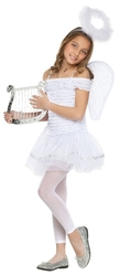 Ангелы и Феи - Детский костюм Белого Ангелочка