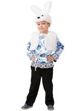 Зайчики и Кролики - Детский костюм белого зайчика