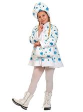 Снегурочки и Снежинки - Детский костюм белой Снегурочки