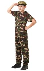 Военные и летчики - Детский костюм Британского солдата