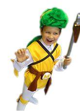 Ниндзя и черепашки - Детский костюм черепашки Микеланджело