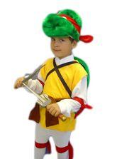 Ниндзя и черепашки - Детский костюм черепашки Рафаэль