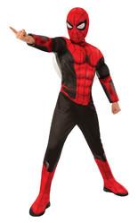 Человек-паук - Детский костюм черно-красного Спайдермена Dlx
