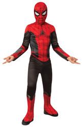Человек-паук - Детский костюм черно-красного Спайдермена