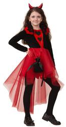 Страшные - Детский костюм черно-красной Дьяволицы