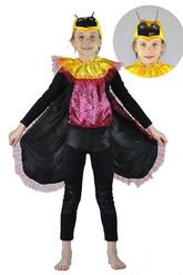Божьи коровки - Детский костюм черного жука