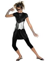 Супергерои и спасатели - Детский костюм Черной Спайдергерл