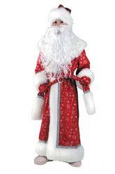 Дед Мороз - Детский костюм Дедушки Мороза Плюшевый