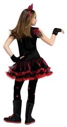 Страшные - Детский костюм Девочки Чертика