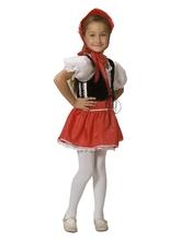 Красные шапочки - Детский костюм Девочки Красной Шапочки