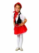 Красная шапочка - Детский костюм Девочки Красной Шапочки