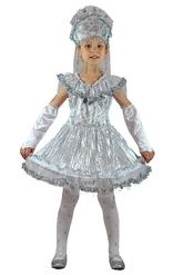 Снежинки - Детский костюм Девочки Снежинки