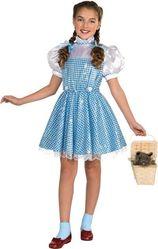 Герои фильмов - Детский костюм Дороти с блестками