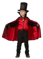 Вампиры и Дракулы - Детский костюм Дракулы в красном