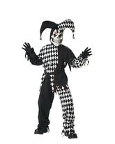 Шуты и скоморохи - Детский костюм дьявольского шута