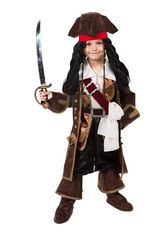 Пираты и разбойники - Детский костюм Джек Воробей