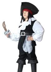 Пираты и разбойники - Детский костюм Джека Воробья