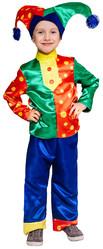 Шуты и скоморохи - Детский костюм Горохового Скомороха