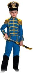 Гусары и Офицеры - Детский костюм гусара в синем