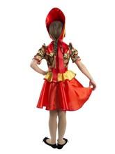 Русские народные - Детский костюм хохломской сувенир