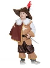 Мушкетеры - Детский костюм Храброго Мушкетера