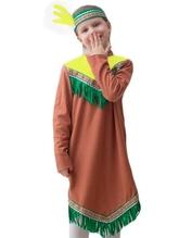 Национальные - Детский костюм Индеанки