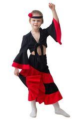 Национальные - Детский костюм испанки
