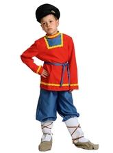 Русские народные - Детский костюм Иванушки в лаптях