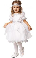 Снежинки - Детский костюм изящной Снежинки