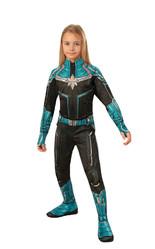 Супергерои и спасатели - Детский костюм Капитана Марвел