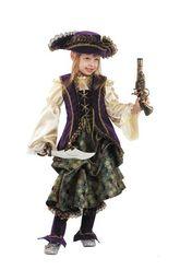 Пиратки - Детский костюм капитанши пиратов
