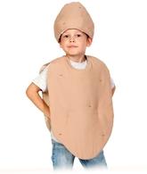 Фрукты и ягоды - Детский костюм Картофель