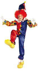 Клоуны - Детский костюм клоуна-акробата